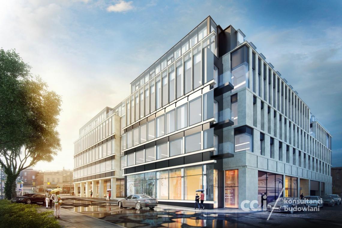 Biurowiec projektu CDF Architekci odmieni centrum Bydgoszczy