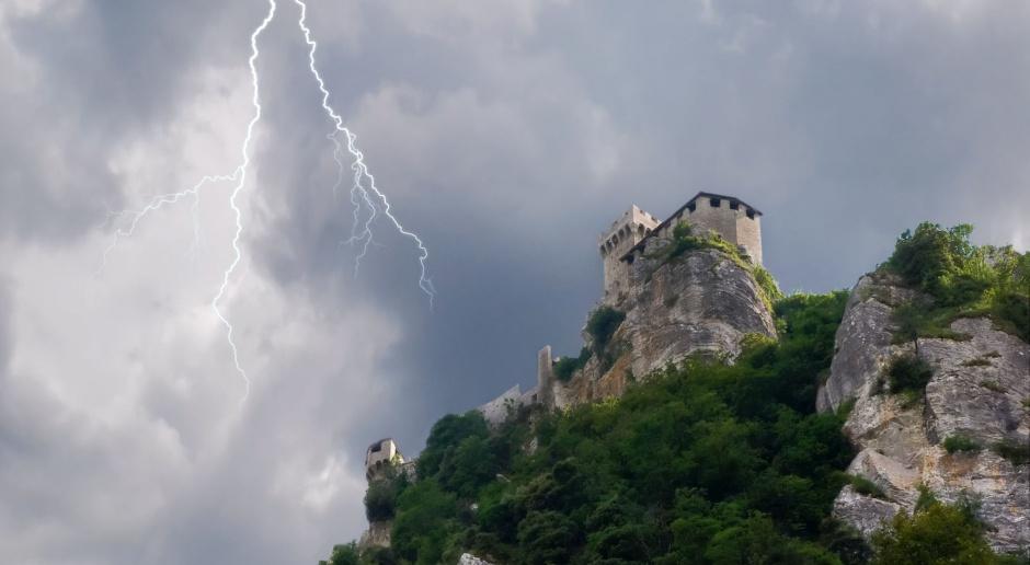 Zamek w Pieskowej Skale jak nowy