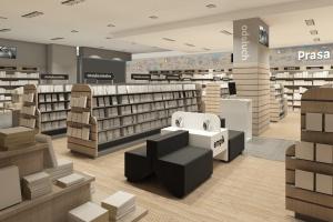 Nowa koncepcja dla salonu Empik w centrum Warszawy od Otomi