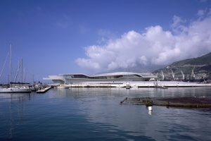 Terminal jak wielka ostryga. Pierwsza realizacja Zahy Hadid ukończona po jej śmierci