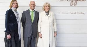 Norman Foster na otwarciu projektu Maggie's Centre
