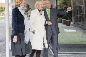 Norman Foster na otwarciu swojego projektu Maggie's Centre w Manchesterze