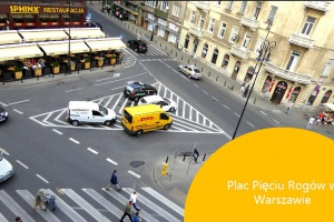 Plac Pięciu Rogów w Warszawie ma być bardziej przyjazny pieszym