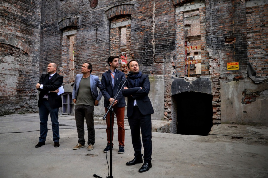 Inżynierska 3 – odzyskana oficyna dla Centrum Kreatywności zmieni oblicze Pragi