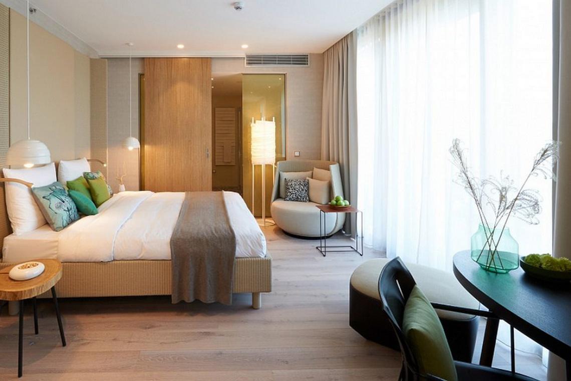 Łazienka bliska naturze w hotelu Radisson Blu