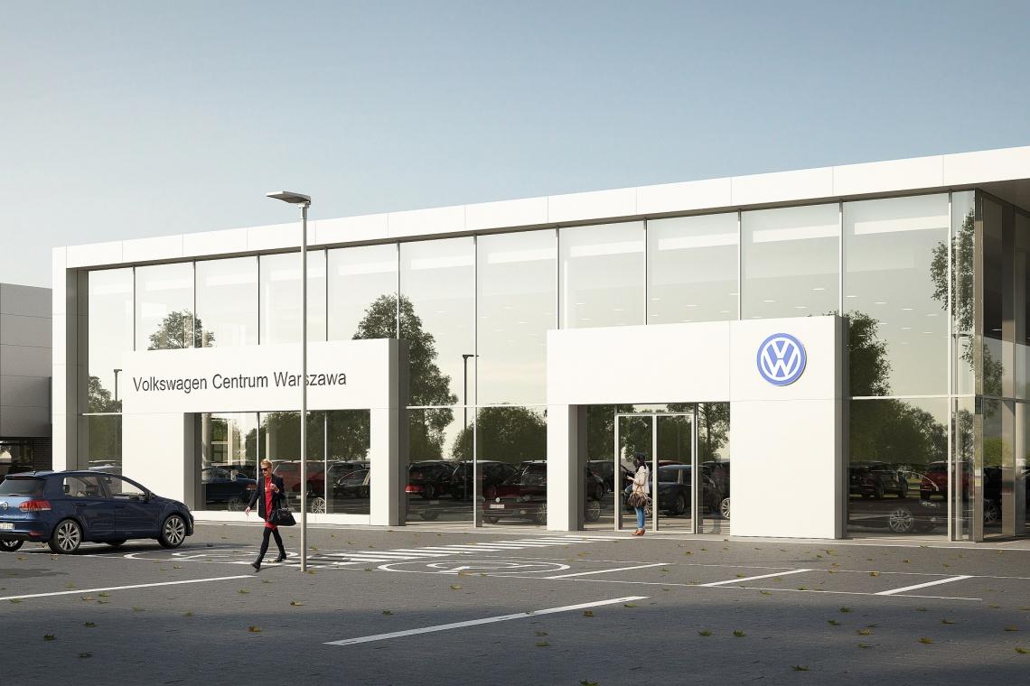 Salon Porsche w Warszawie wykona Skanska według projektu Studia Arte