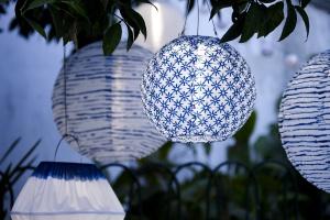 Niech słońce naładuje... noc - z lampą od IKEA to możliwe