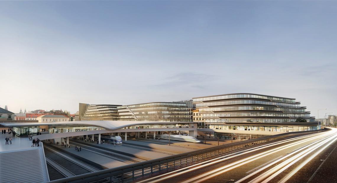 Nowa dzielnica biznesowa w Pradze? Jest szansa z projektem Zahy Hadid