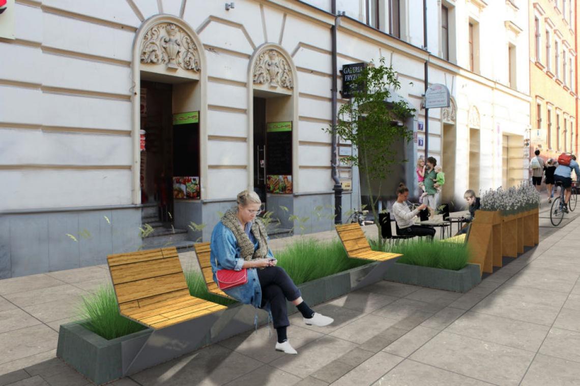 Kraków będzie miał swój woonerf
