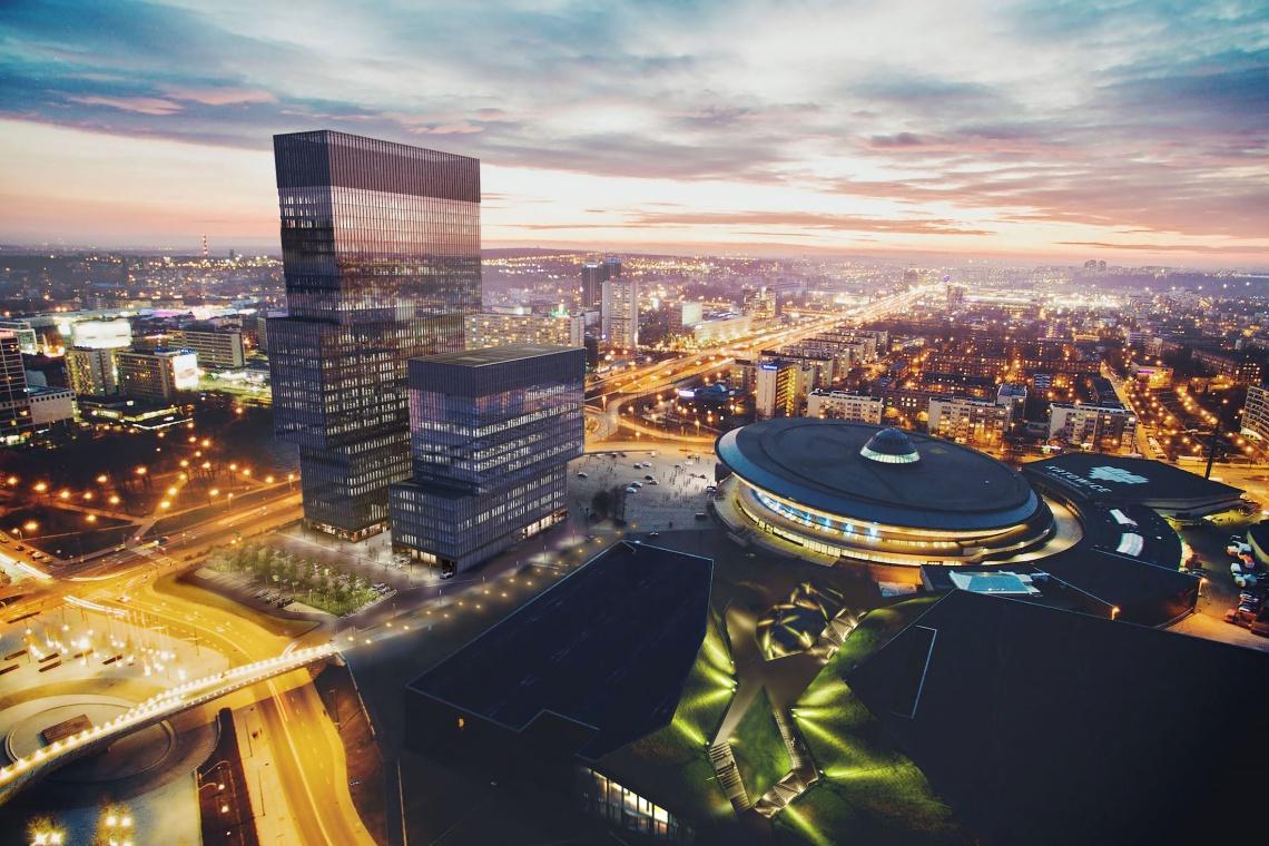 Biura w chmurach. Oto najwyższe biurowce w Polsce