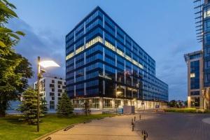 Biurowiec Wołoska 24 projektu AMC Chołdzyński z BREEAM Excellent