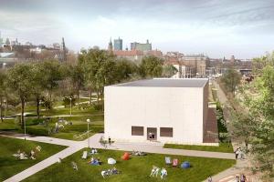 Zaprojektuj fasadę siedziby Muzeum nad Wisłą
