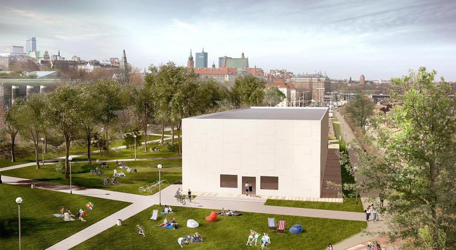Tak będzie wyglądało Muzeum Sztuki Nowoczesnej nad Wisłą