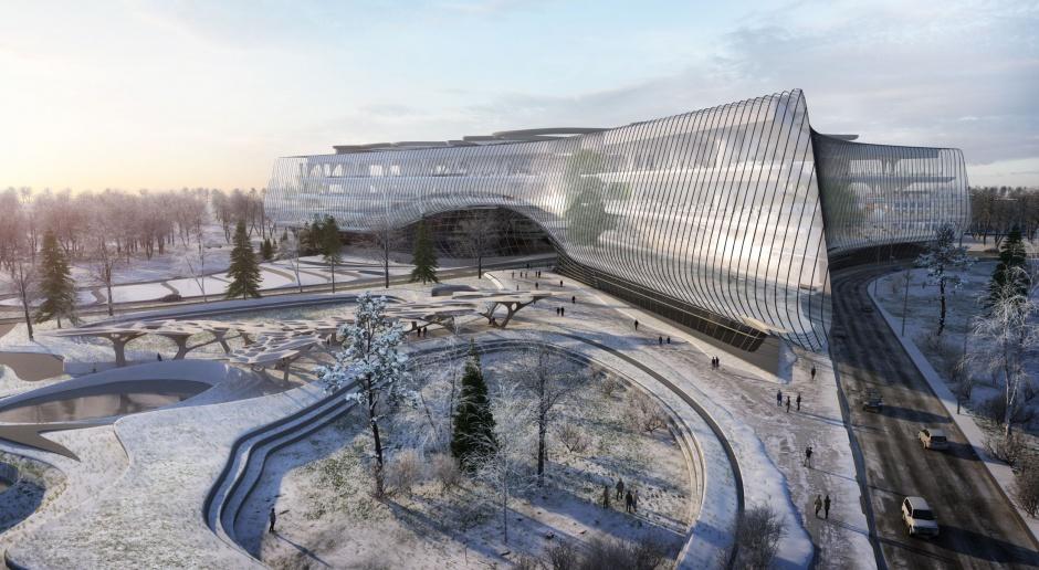 W tym budynku będą powstawać przełomowe technologie dla Rosji