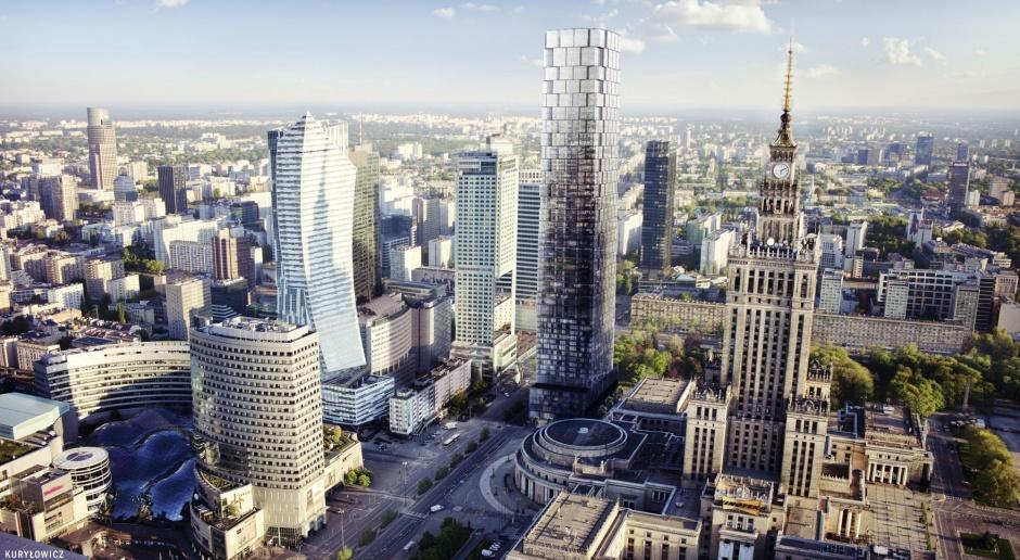 233-metrowa wieża w samym centrum Warszawy