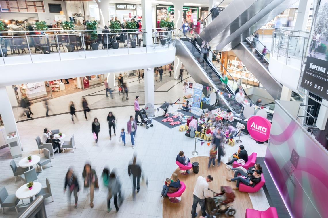 Ekologicznie i nowocześnie - tak się zmieni Aura Centrum według projeku Vsf-creative