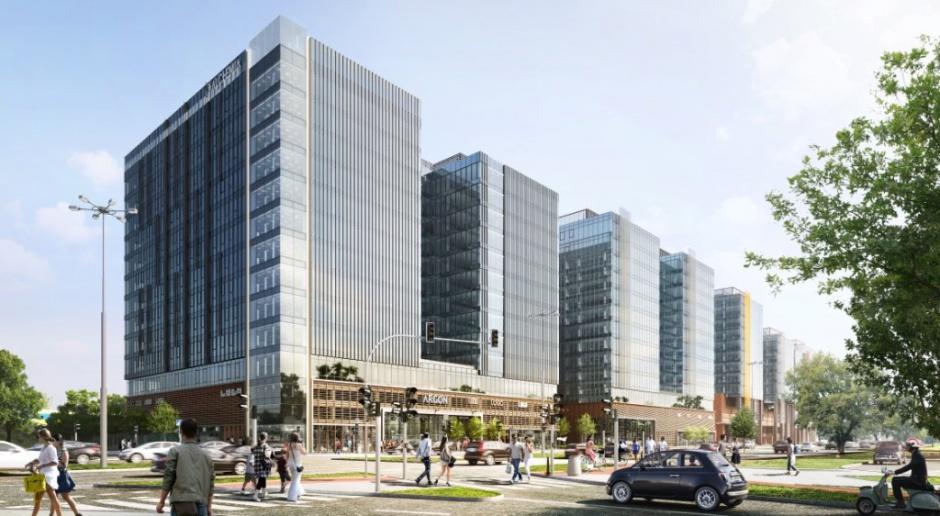 Jak się buduje biurowce takie jak gdański Argon? Te liczby oddają skalę inwestycji