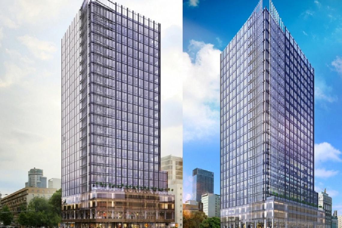 Wieżowy projekt w sercu stolicy