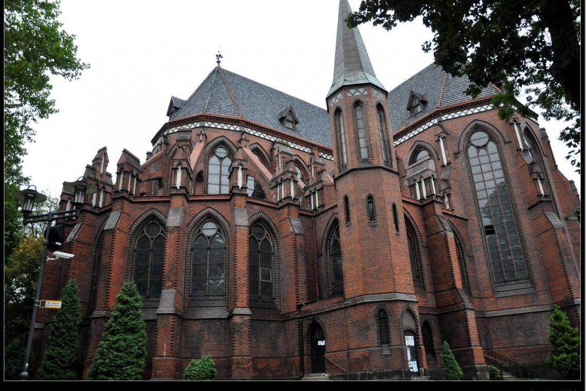 Wieloletni remont neogotyckiej katedry w Gliwicach