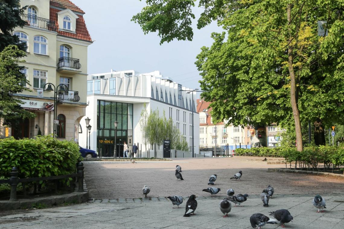 Molo Hotel na wzór skandynawskich kurortów