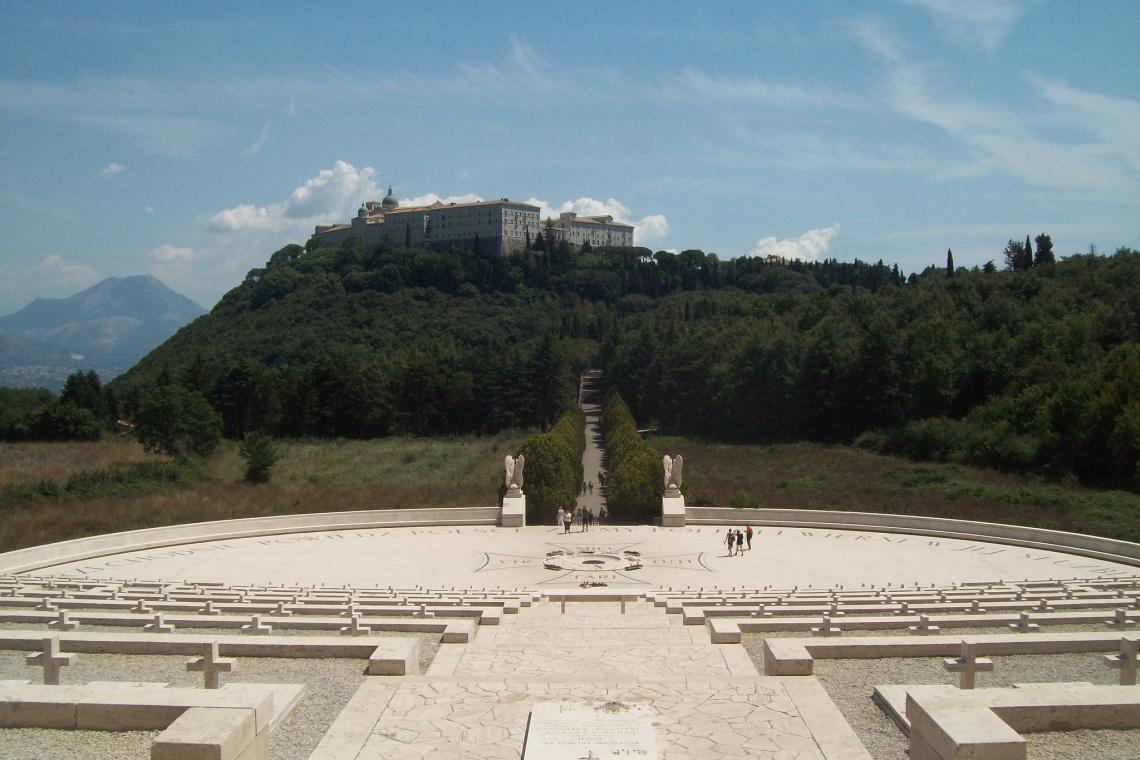 Teren bitwy na Monte Cassino w rejestrze zabytków