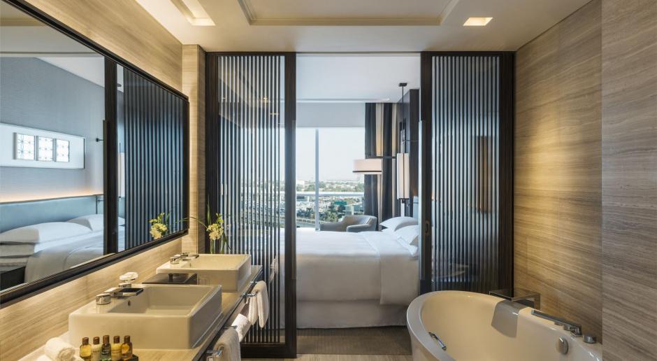 Arabskie noce w Sheraton Grand Hotel w Dubaju