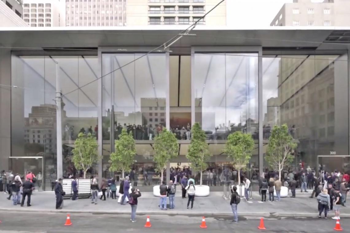 Szklane i nowoczesne? To musi być Apple