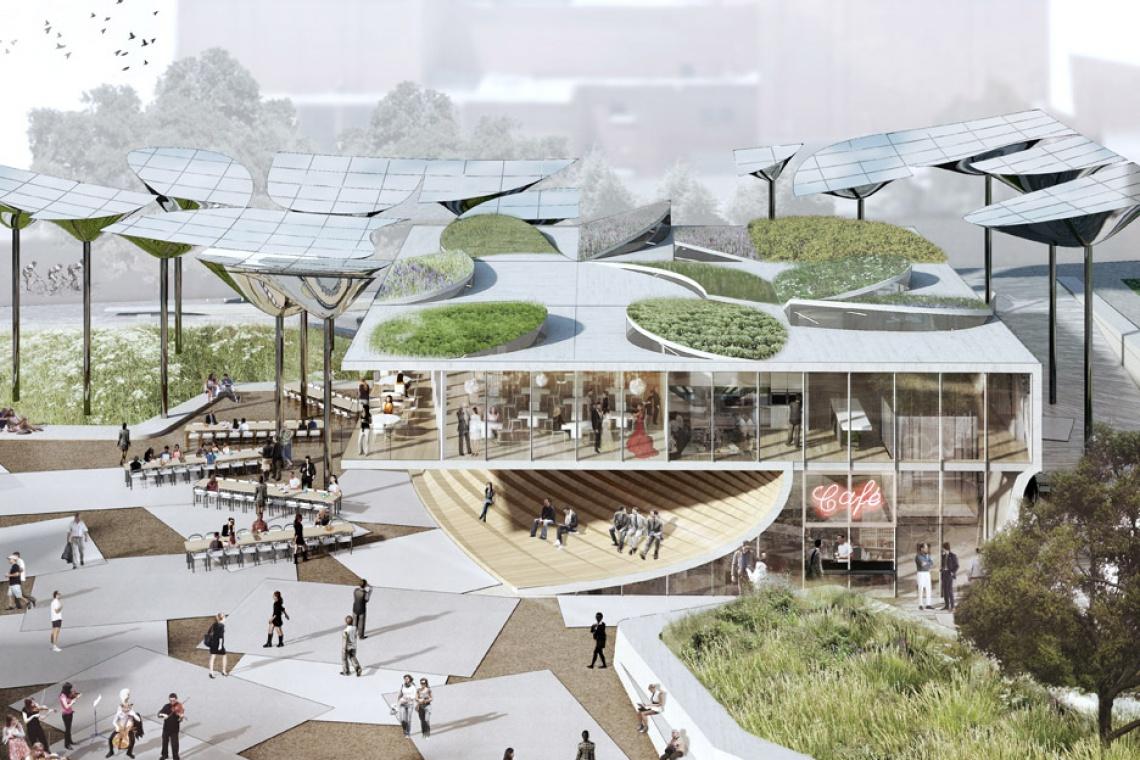 Istnieje kraj, gdzie architekci projektują miejskie parki