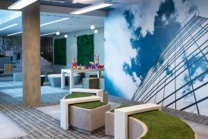 Kreatywne i niebanalne biuro w T-Mobile Office Park