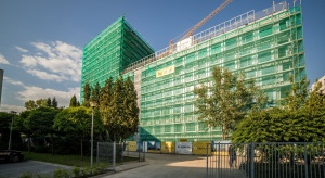 Biurowiec EQlibrium z wiechą. Fasada będzie wyjątkowa!