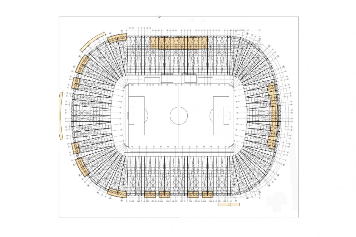 Stadion Pogoni Szczecin z koncepcją od Janusza Pachowskiego