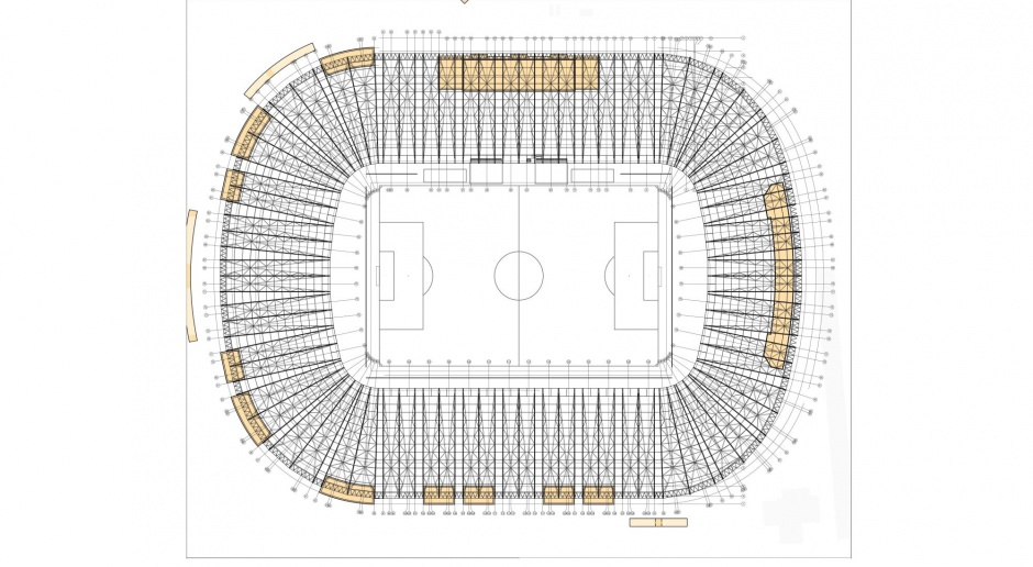 Miasto pokazało pierwszy projekt nowego stadionu Pogoni Szczecin