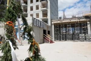 Zobacz, jak powstaje aparthotel na Wyspie Spichrzów