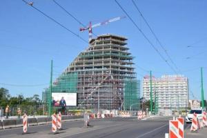 16. piętro Bałtyku - tradycyjna wiecha i nowoczesna architektura MVRDV
