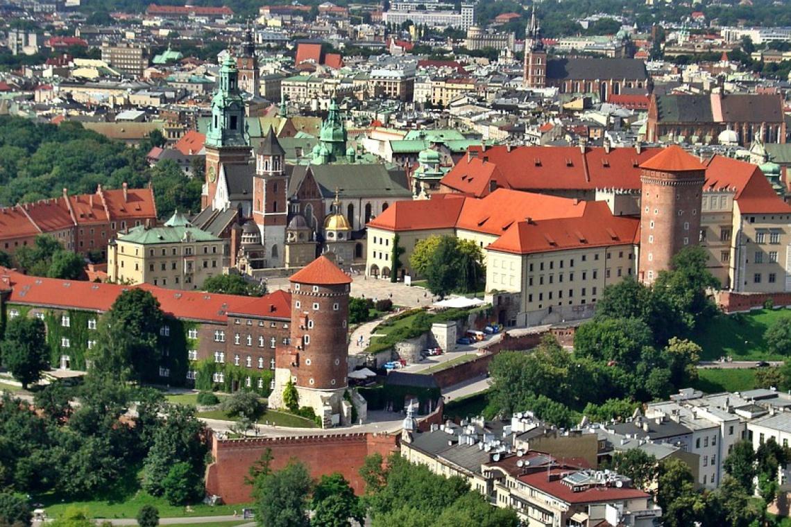 Jak wyglądał Kraków w XIV wieku?