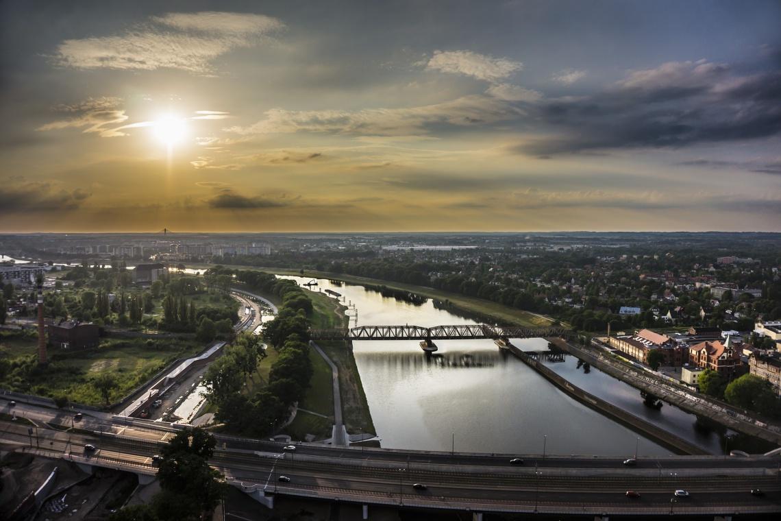Zobacz jak pięknieje Wrocław