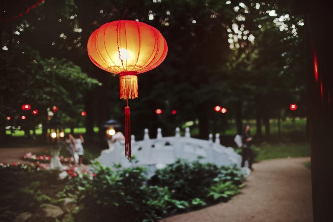 Łazienki Królewskie znów rozbłysną chińskimi lampionami