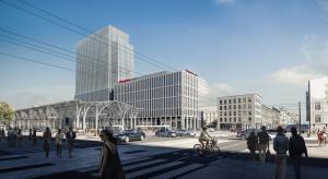 Najwyższy biurowiec w Łodzi już rośnie. To projekt PRC Architekci