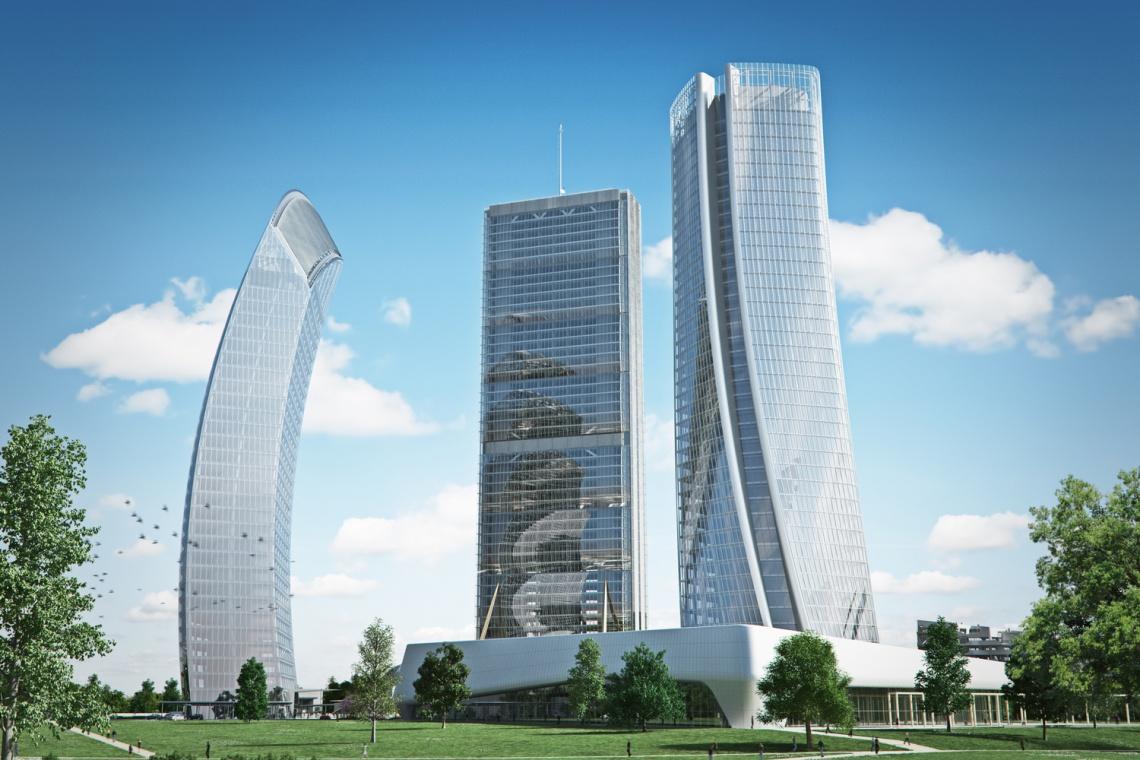 Wieżowa rewitalizacja w stylu Zahy Hadid