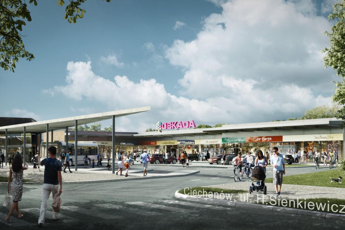 Dekada planuje kolejne centra handlowe w małych miastach. Pierwszy obiekt - od Air Project