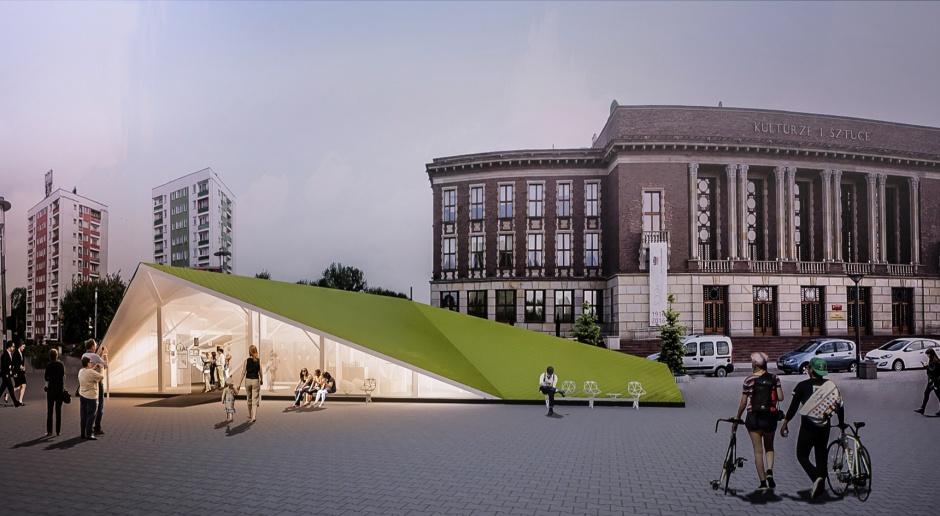 Wyjątkowy pawilon wystawowy na 100-lecie miasta