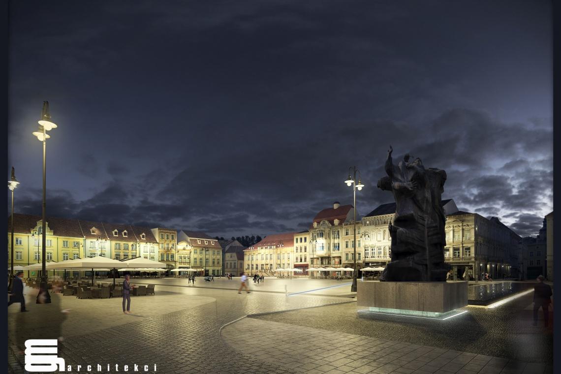 Zobacz, jak wypięknieje Stary Rynek w Bydgoszczy