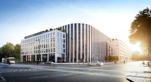 Wiecha na Sagittarius Business House. To wspólny projekt Echo Investment i Arcad
