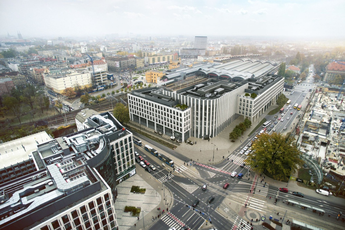 Zobacz, jak wygląda Sagittarius Business House - wrocławski biurowiec Echo Investment