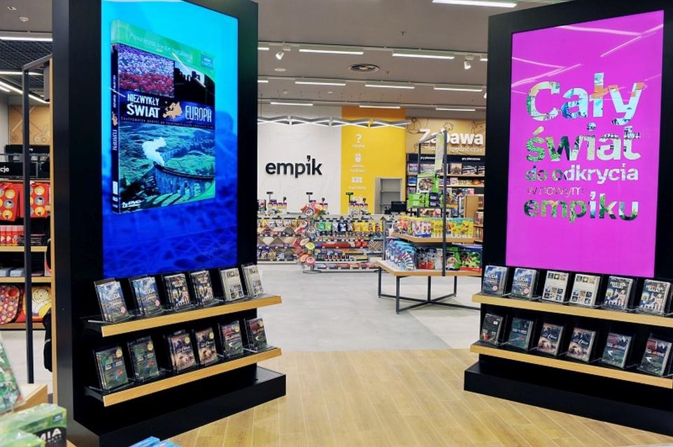 Empik stawia na nowy design, który celebruje kreatywność i radość z odkrywania nowego