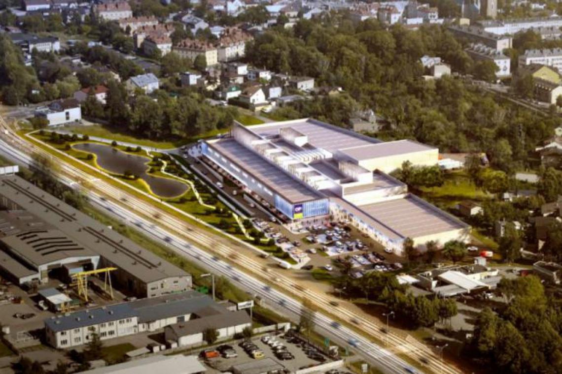 Nowe centrum spod kreski Mofo Architekci