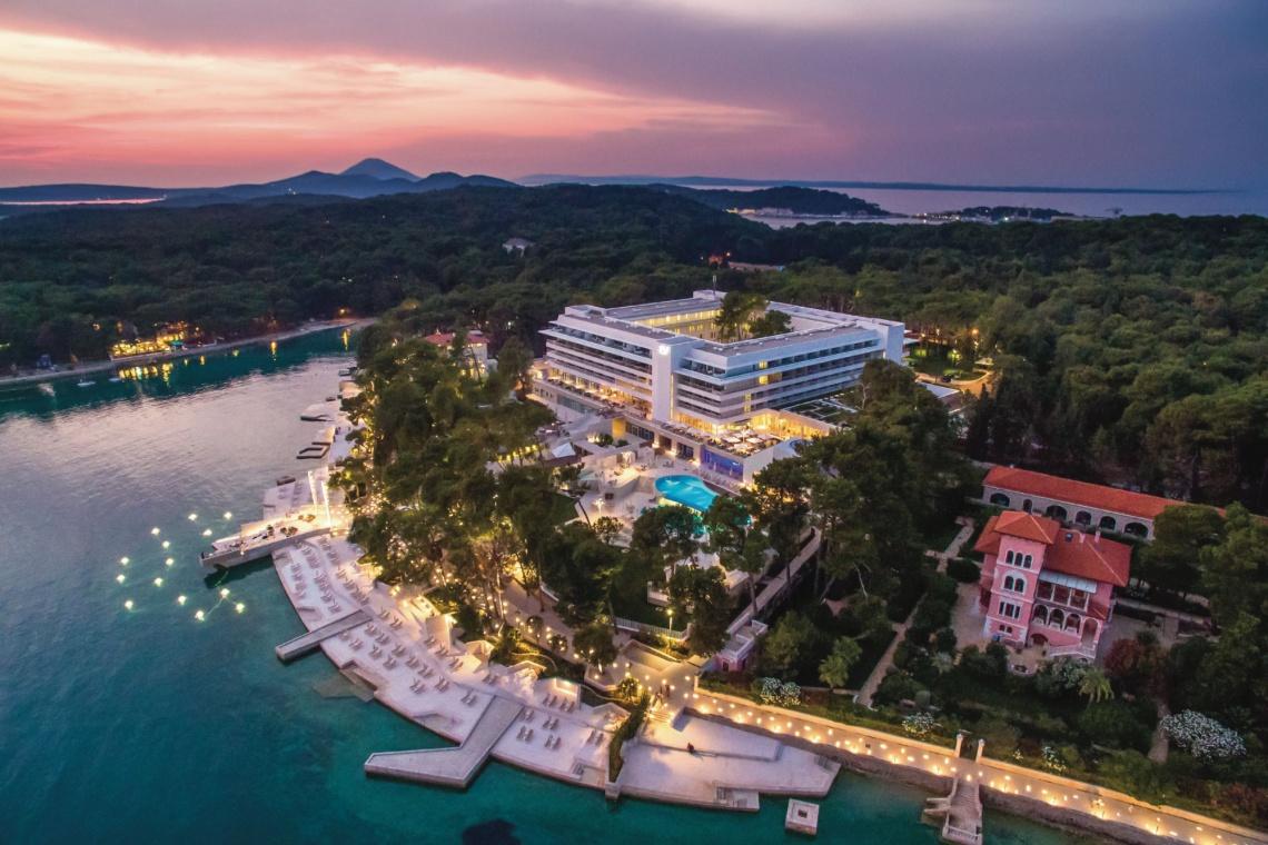 Ekskluzywny kompleks hotelowy na chorwackiej wyspie