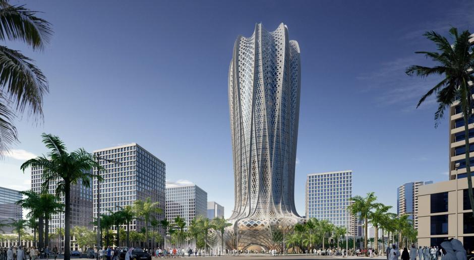 Hotel niczym hiacynt na pustyni. Nowy projekt Zaha Hadid Architects w Katarze