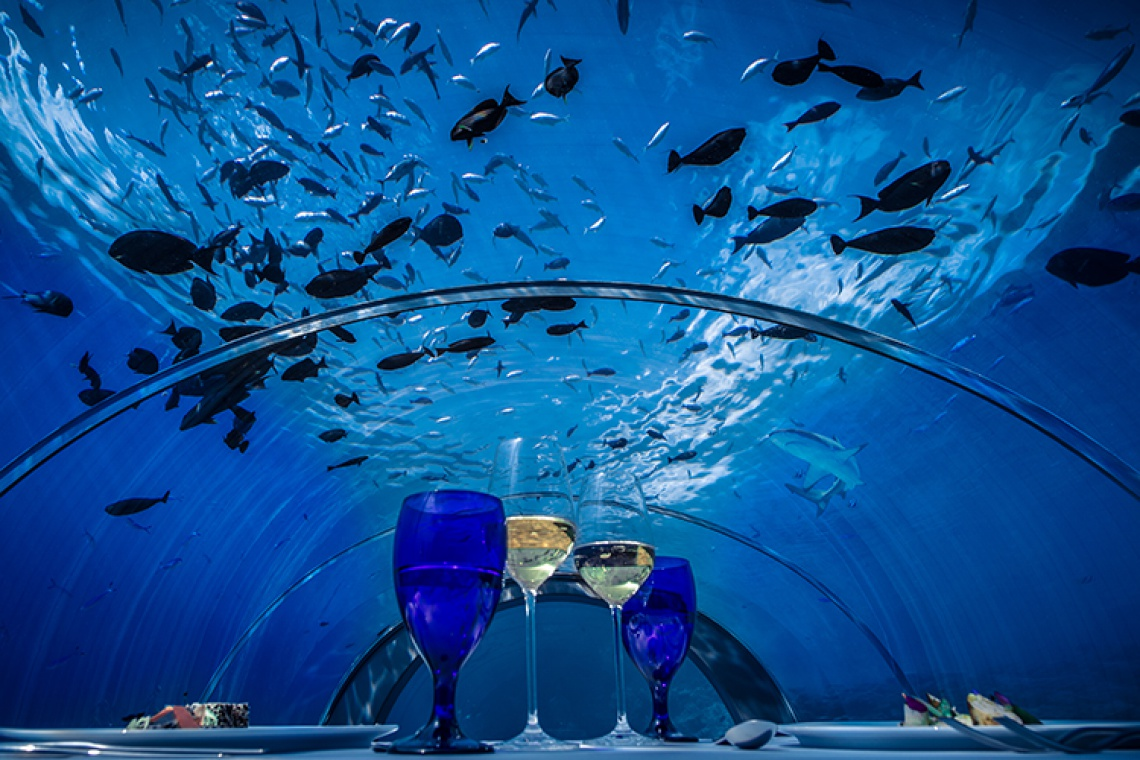 Podwodne budynki. Efekt wow dla każdego