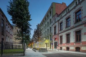 Magiczny woonerf na Piramowicza w Łodzi